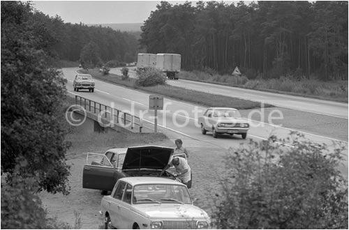 Autobahn in Der DDR